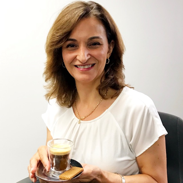 What drives Bizcaps people? For Paolina, it's coffee!